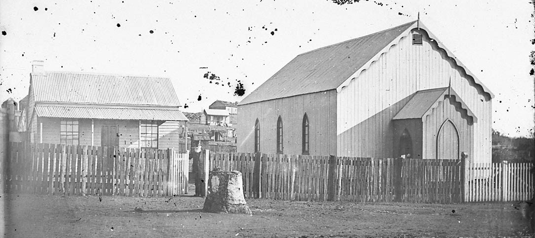 Gulgong Wesleyan Chapel built in1871