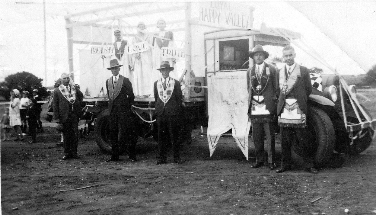 Oddfellows Gulgong Show 1933